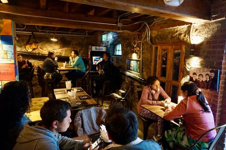 Café La Caverna. Playa Ancha, Valparaíso