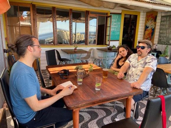 Apuntes y Viajes en Terraza Lamar