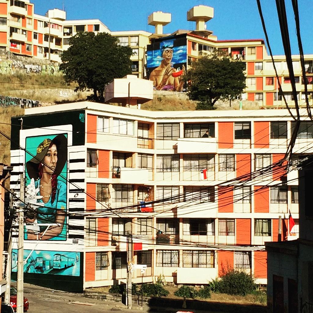Pablo West. Cerro Barón, Valparaíso