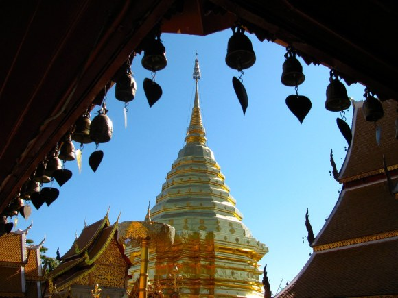 Chedi Wat Phra That Doi Suthep