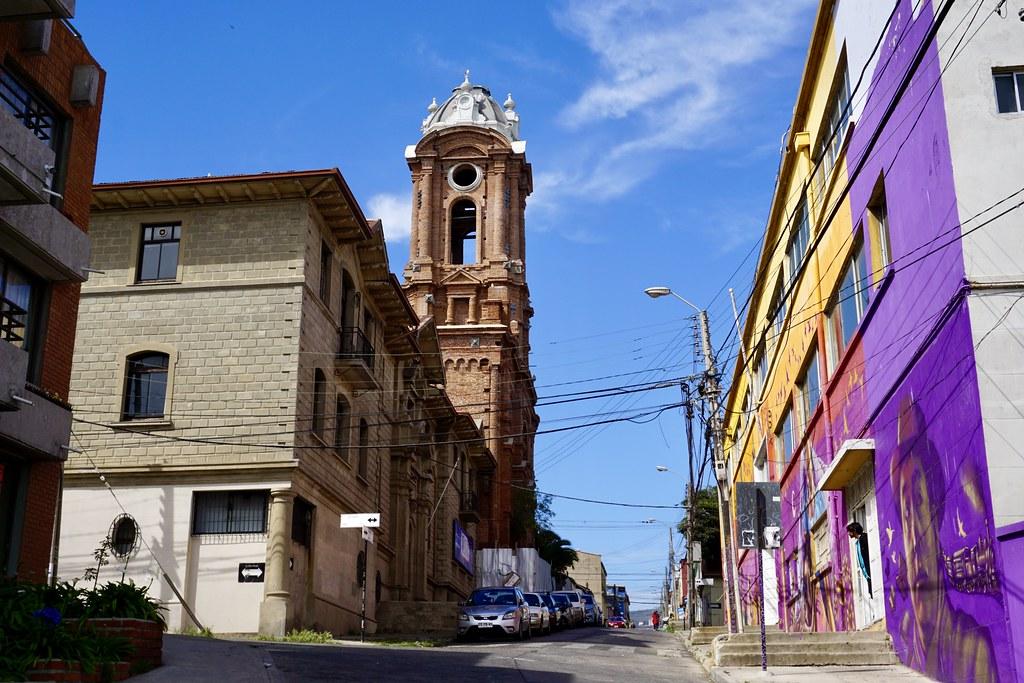Iglesia San Francisco, cerro Barón