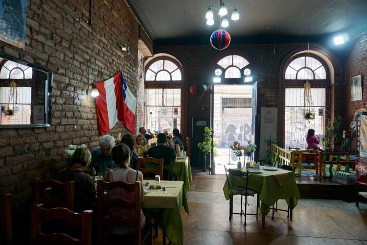 Fusión comida chileno peruana en La Taberna de Oscar