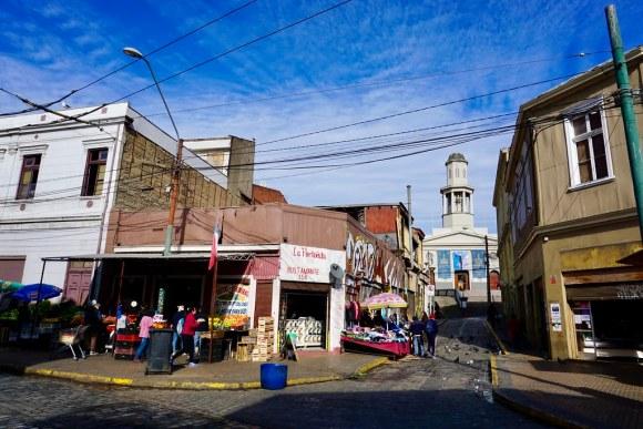 Iglesia La Matriz en el Barrio Puerto