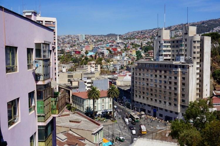 Plaza Aníbal Pinto y cerro Bellavista