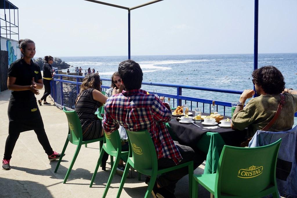 Vista al mar en Restaurante Las Torpederas