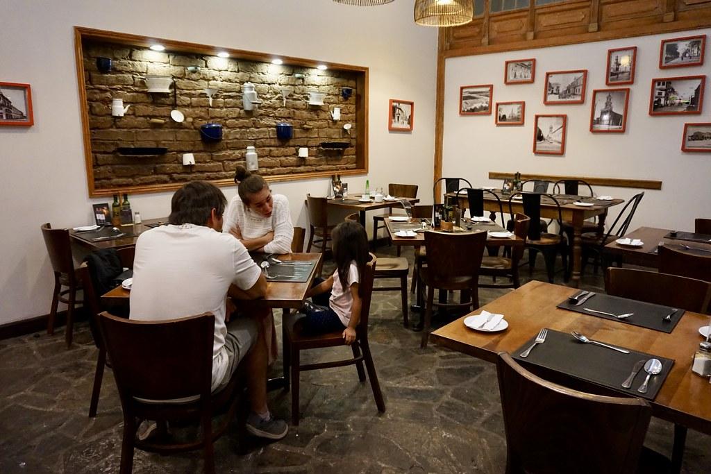 Decoración que evoca La Serena en la antigüedad