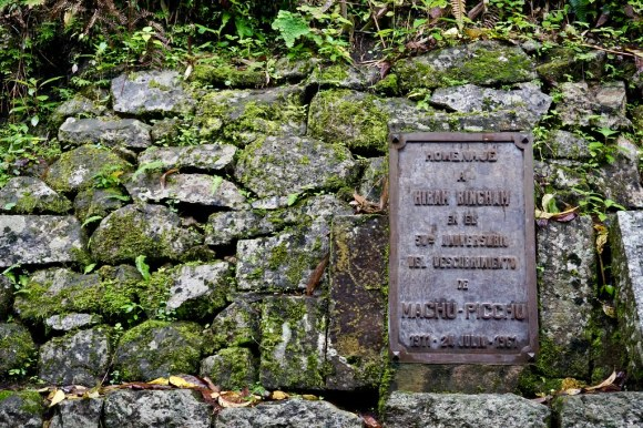 Homenaje a Hiram Bingham