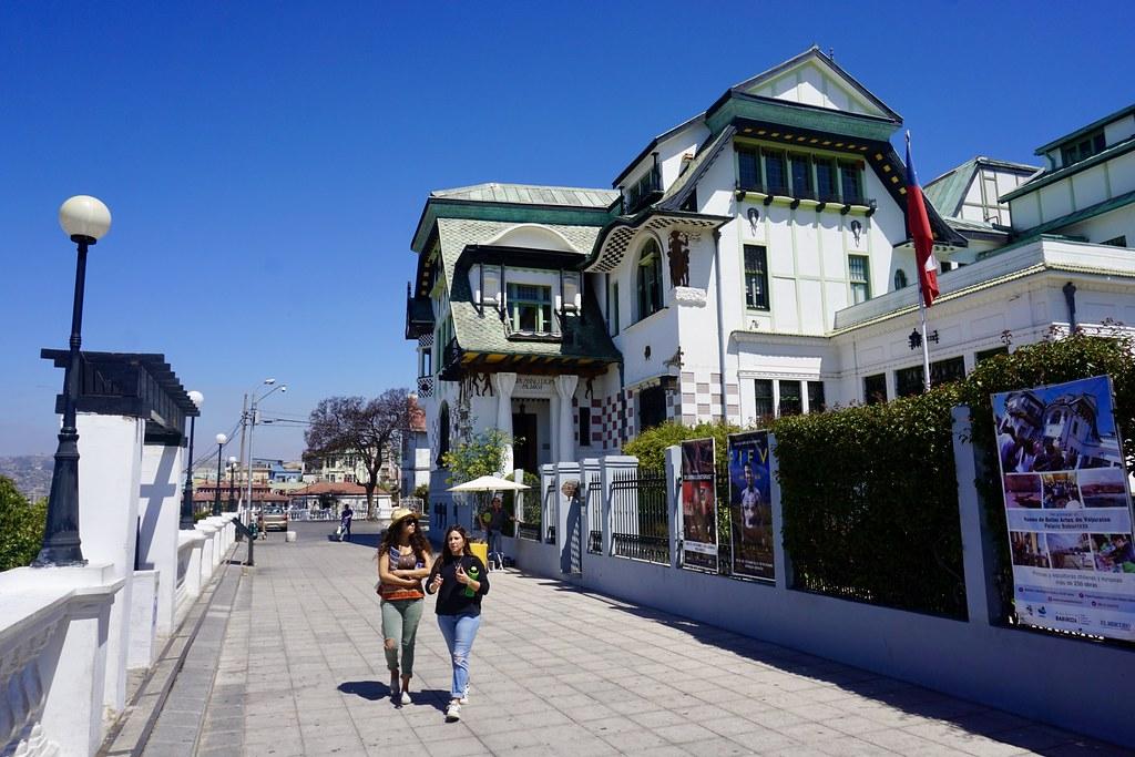 Paseo Yugoslavo y Palacio Baburizza