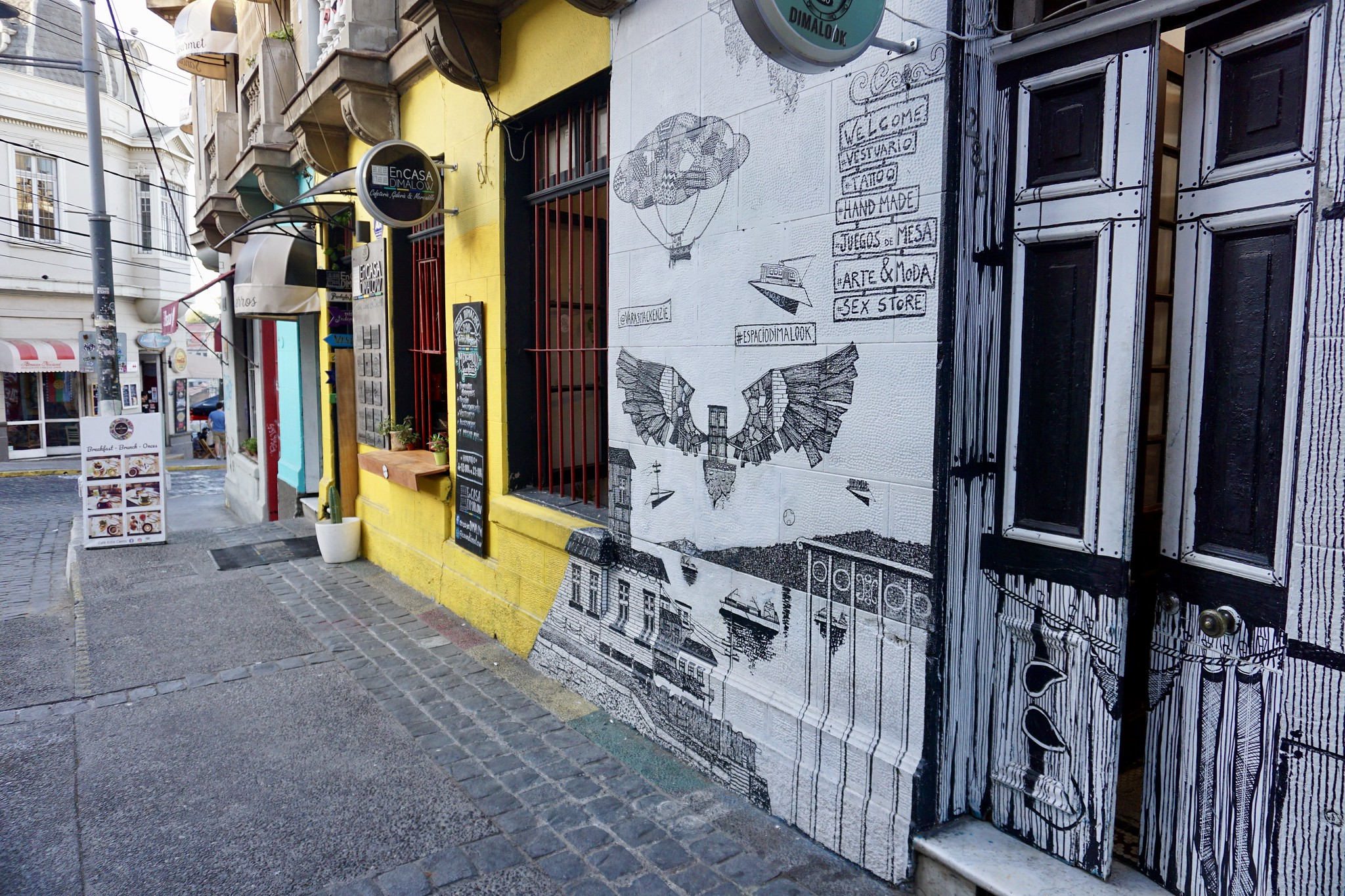 Casa Dimalow, cerro Alegre
