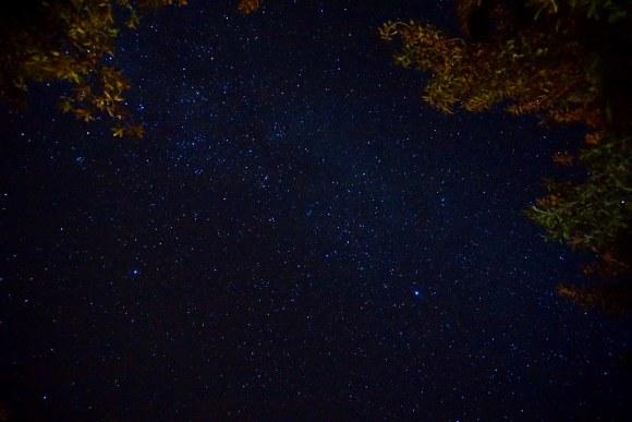 Cielo estrellado sobre el Valle de Elqui
