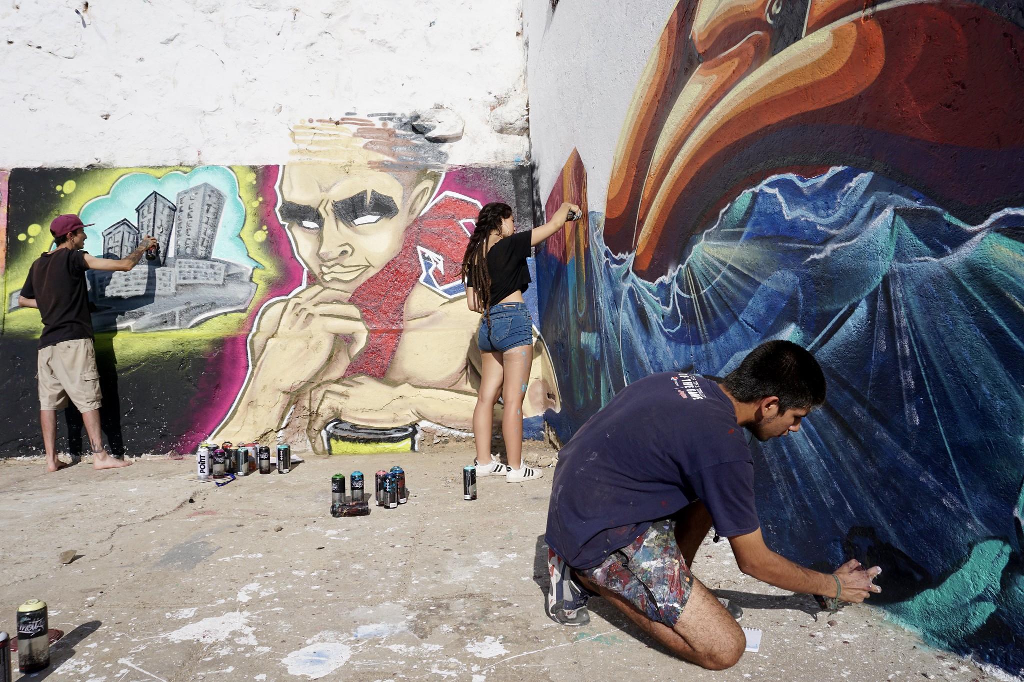 Encuentro Muralistas Las Torpederas