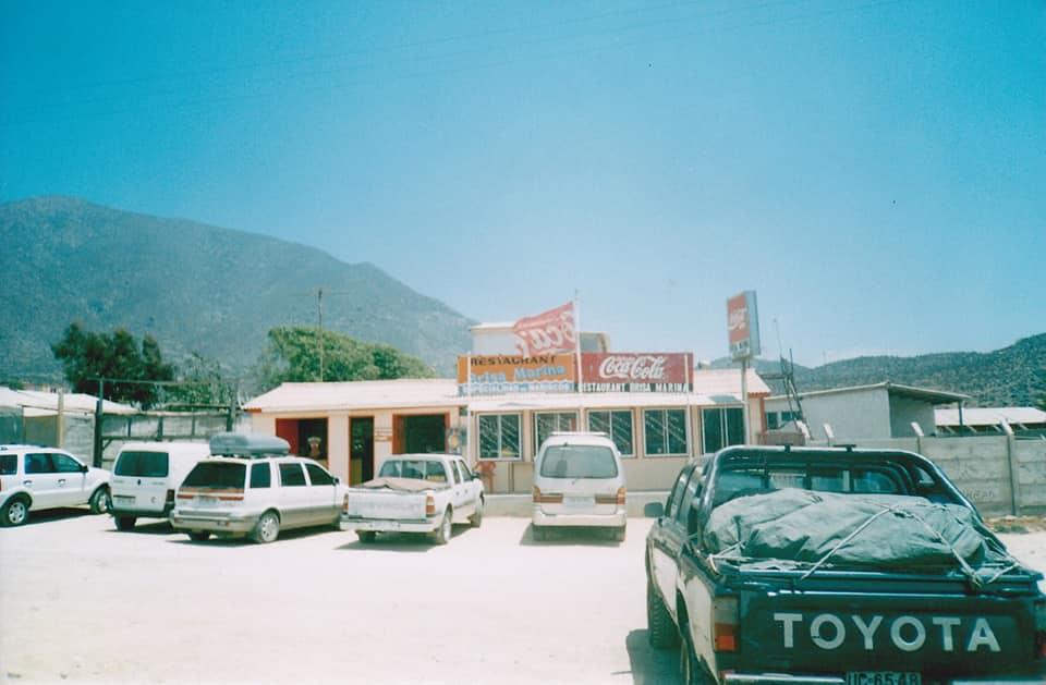 Restaurant Brisa Marina a fines de los 90