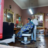 El peluquero de Playa Ancha