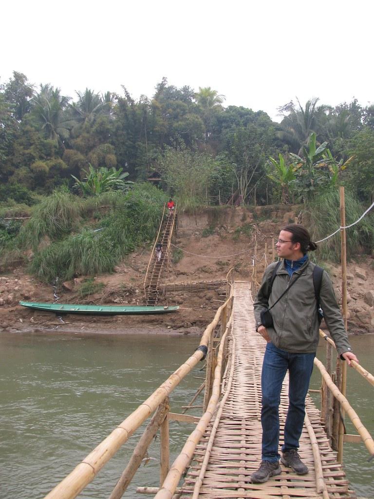 Hernán Castro Dávila en Luang Prabang