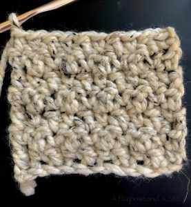 How to Crochet the Seed Stitch