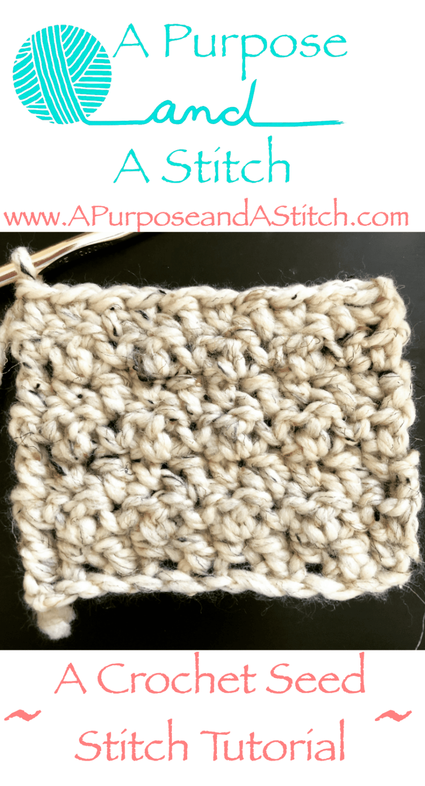 seed stitch tutorial