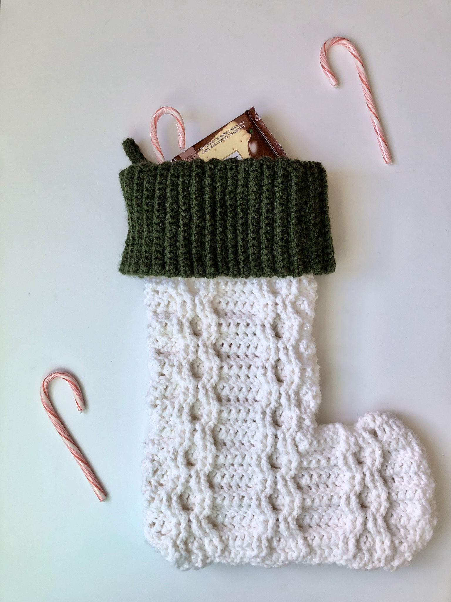 Andy's Stocking- Blog Post