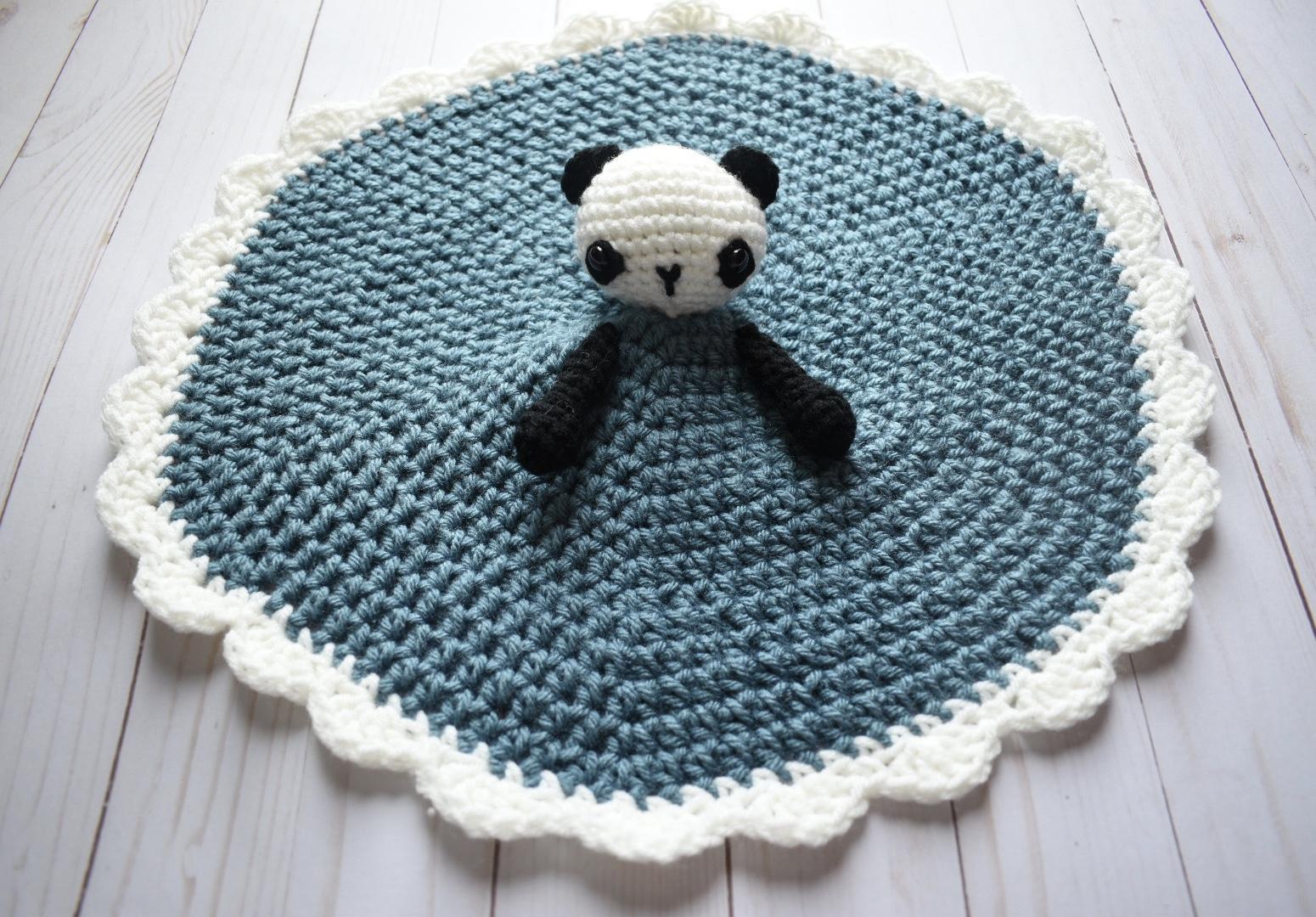 Petunia the Panda Lovey- Free Pattern