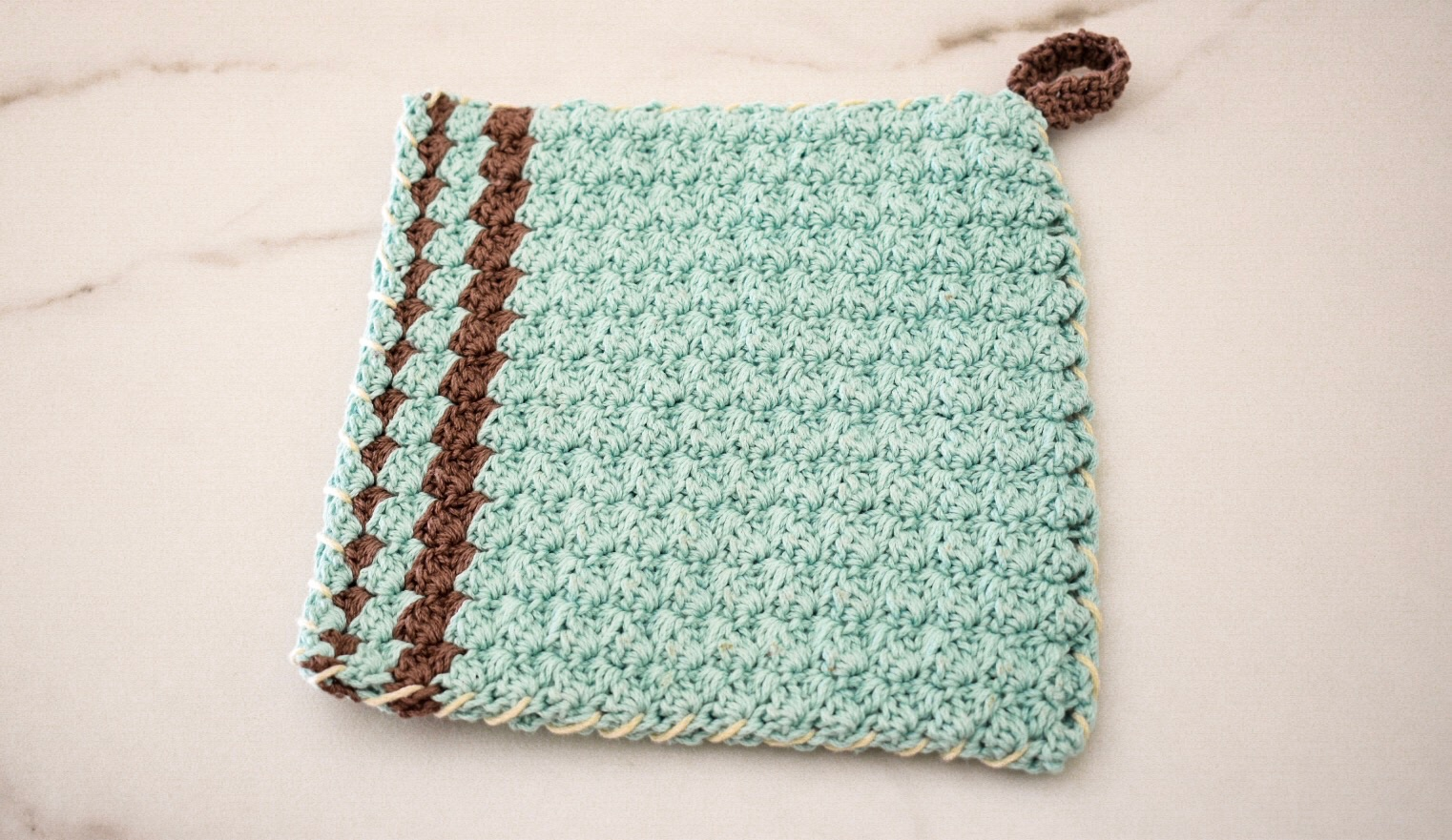 Earl Grey Pot Holder- Free Pattern