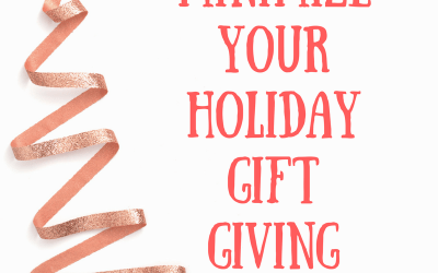 Minimize Your Holiday Gift Giving