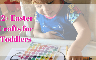 12+ Easter Crafts for Toddlers