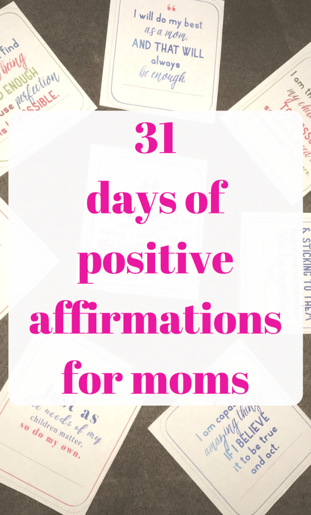 Positive Affirmations for Moms