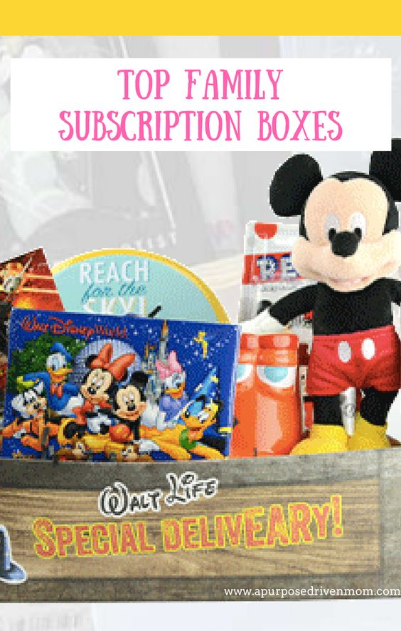 subscription boxes for family