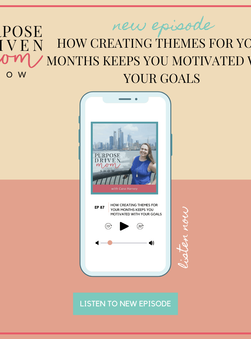 How Creating Themes For Your Months Keeps You Motivated With Your Goals