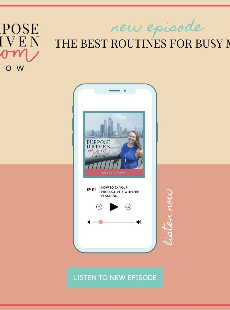 The Best Routines For Busy Moms