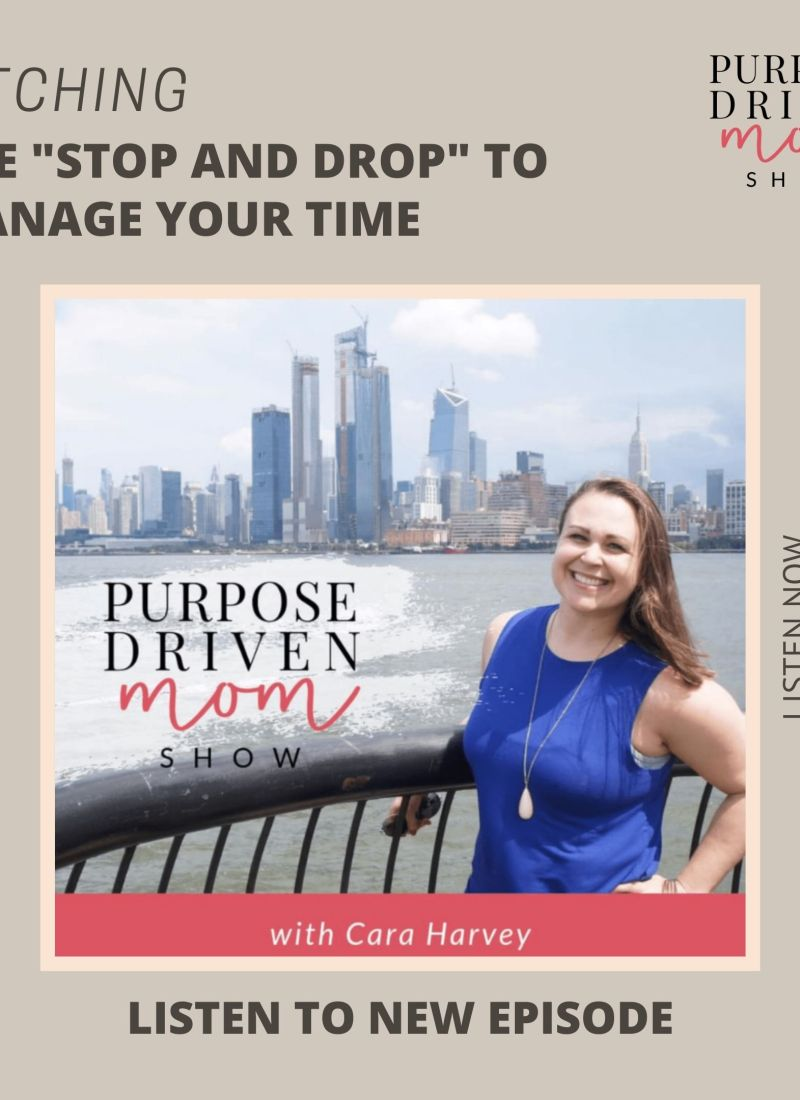 """Ditching the """"Stop and Drop"""" to Manage Your Time"""