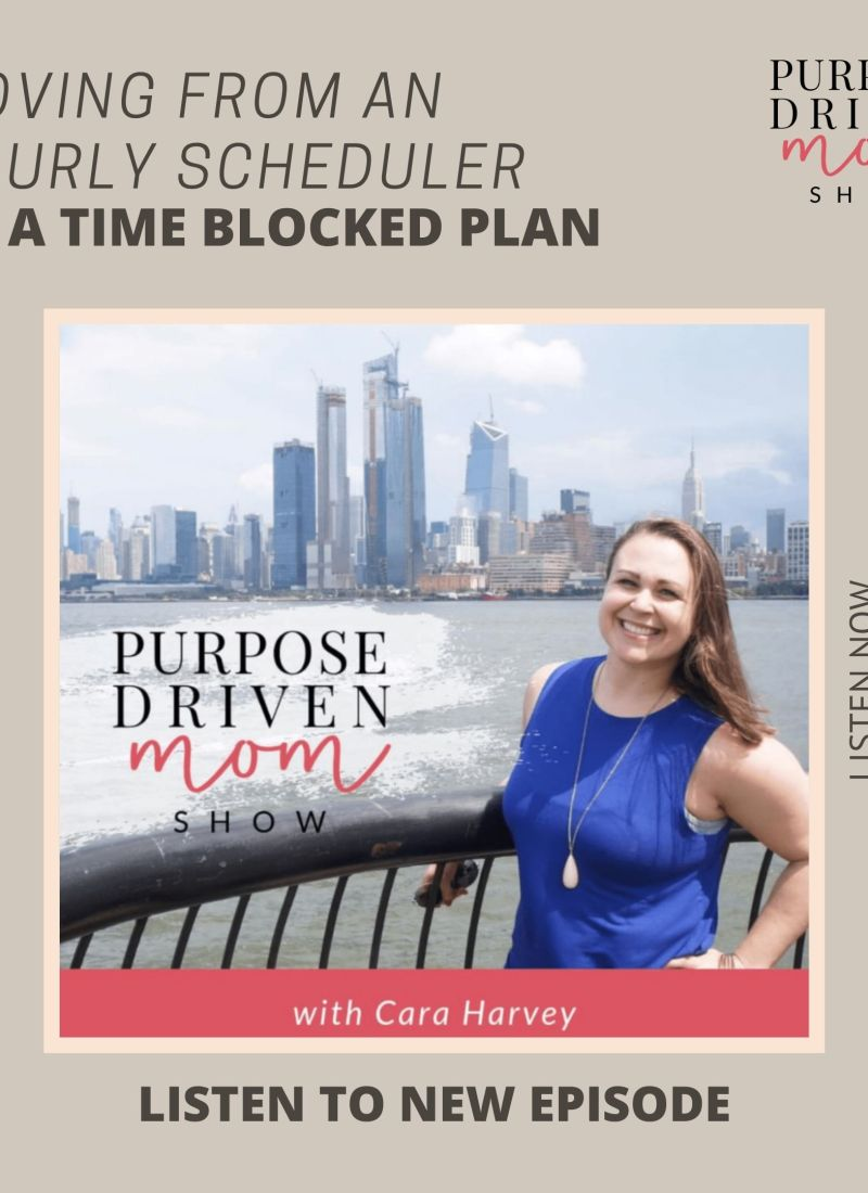 Moving From an Hourly Scheduler to a Time Blocked Plan