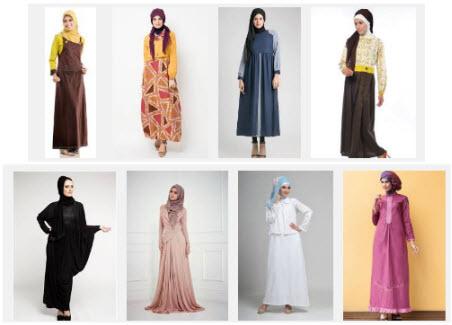 Model Baju Gamis Masa Kini