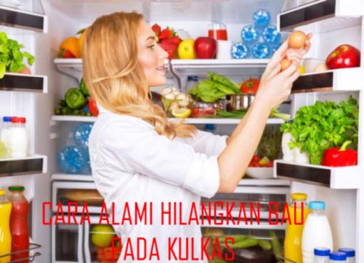Hilangkan Bau Tidak Sedap di Kulkas dengan Cara Alami Ini