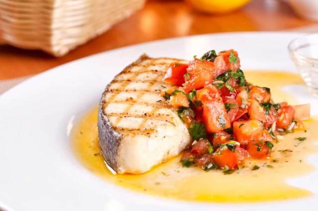 Tuna, Jenis Menu Seafood