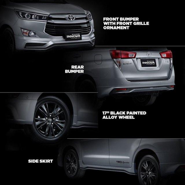 Perubahan pada Toyota Kijang Innova Terbaru