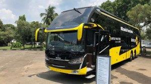 Bus Scania Trans Jawa dari United Tractors