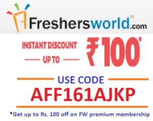 Freshersworld premium membership
