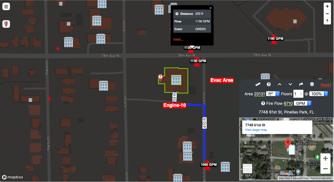 SmartMAP fire department mapping software