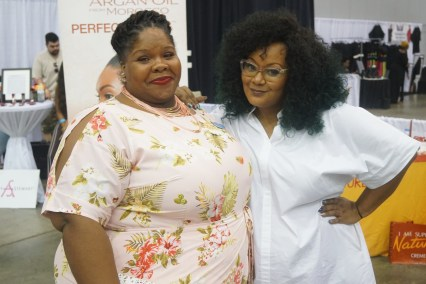Left: AP Young Right: Marie Denee TCF Style Expo 2017