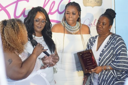 (Left to right) Maui B., Marie Danee of The Curvy Fashionista, Nicci Gilbert & Tanara Burke