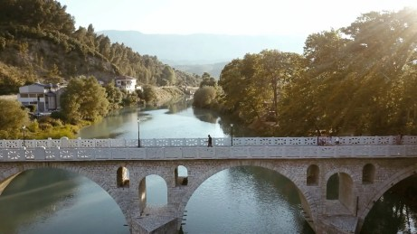Stills from Al Jazeera's The Traveler Albania