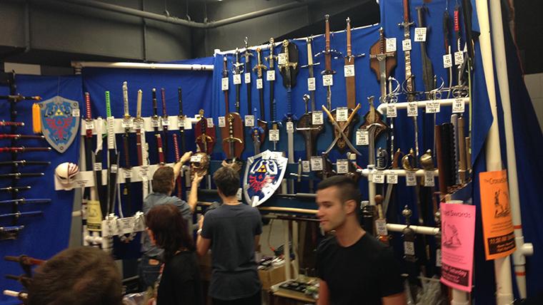 AQ3D DragonCon Weapon Shop