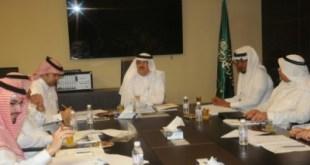 اجتماع لجنة المقاولين