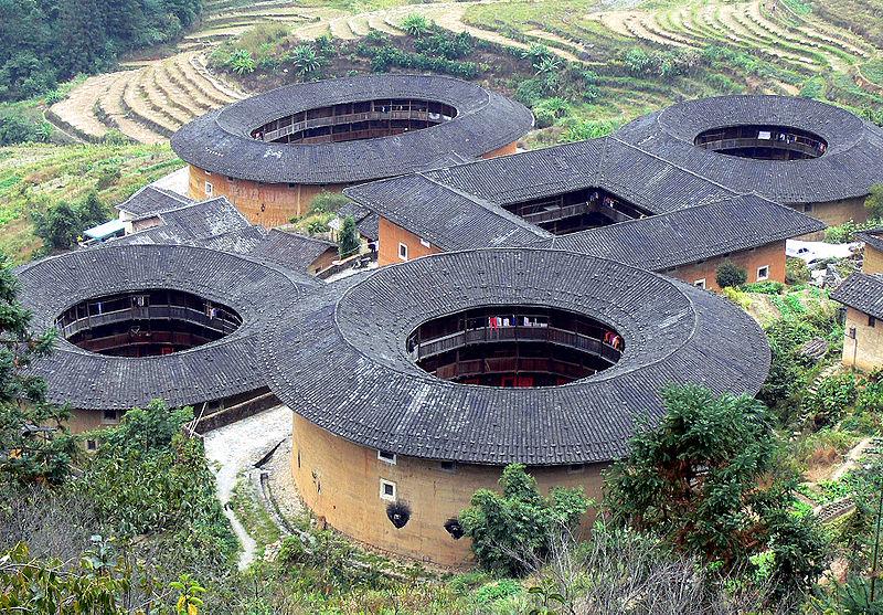 محمع سكني ذو تصميم فريد