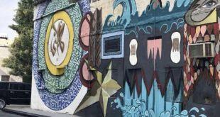 تحويل المنازل الشعبية القديمة إلى لوحات تشكيلية في الخبر