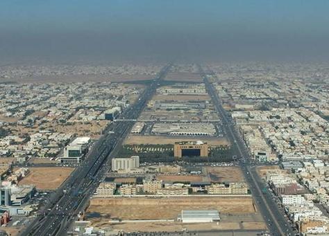 الأراضي في الرياض