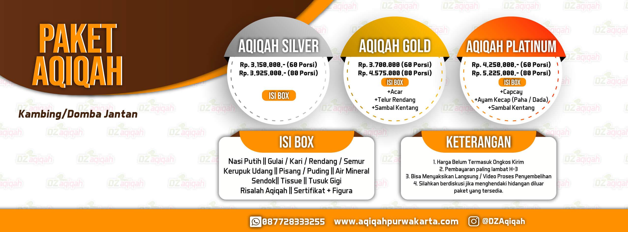 paket aqiqah terlengkap dan terbaik di Kabupaten purwakarta