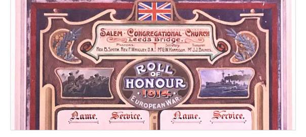 image:Salem Chapel's WWI roll of honour restored