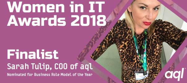 image: Women in IT awards 2018
