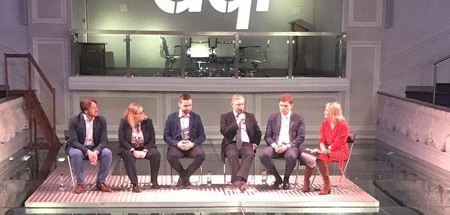 Estonia panel brings digital experts to aql HQ